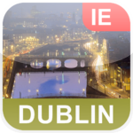 Dublin, Irland Offline Map - PLACE STARS
