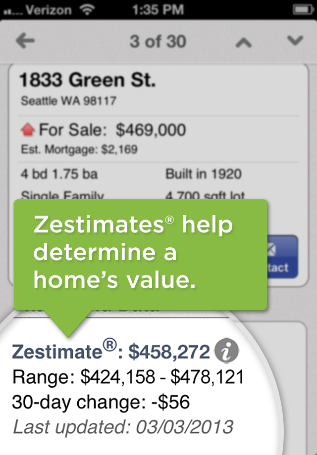 Screenshots for Real Estate by Zillow – Homes & Apartments, For Sale or Rent